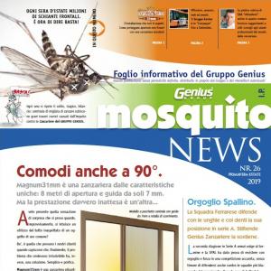 Newsletter, Mosquito nr.26, Primavera-Estate 2019.